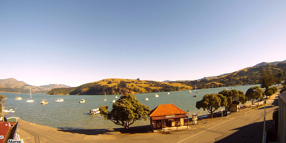 webcam Akaroa Christchurch