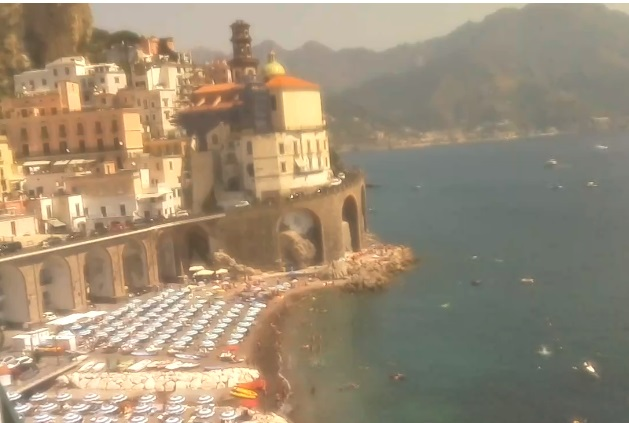 webcam Atrani Salerno