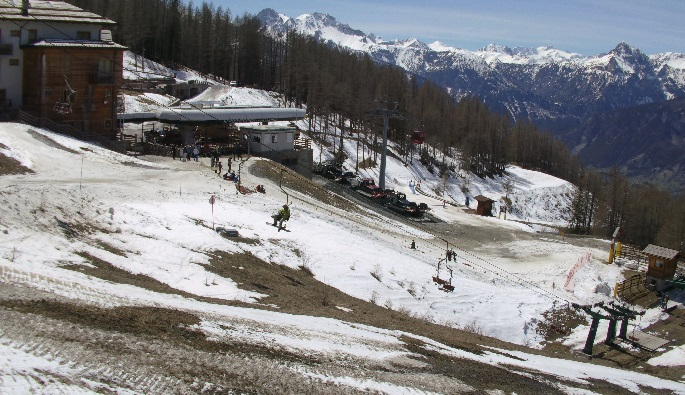 webcam Punta Selletta Bardonecchia Ski Turín