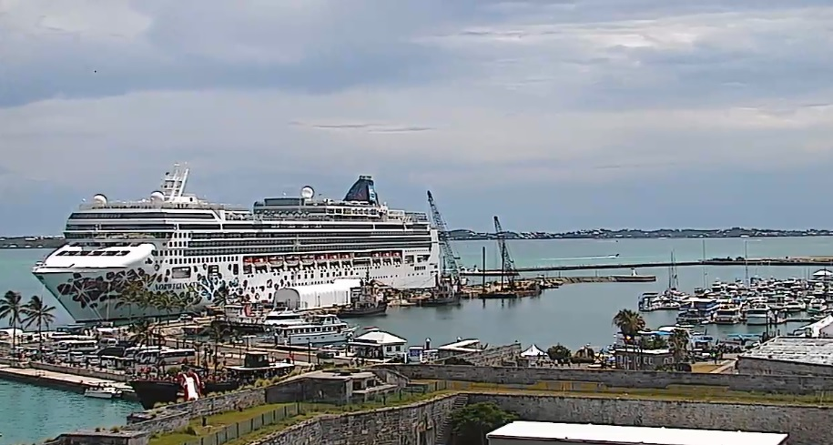 Webcam Bermudas Port