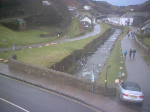 webcam Boscastle South West