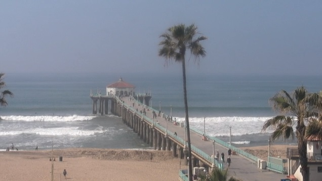 webcam Manhattan Beach Pier Los Angeles