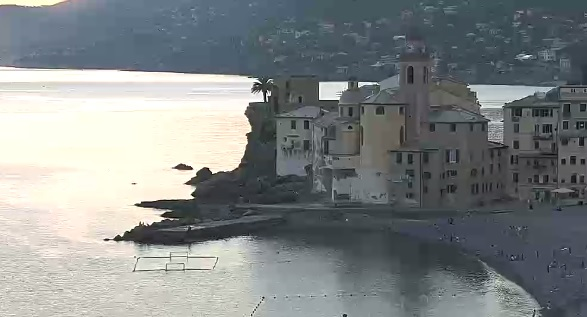 webcam Camogli Genova