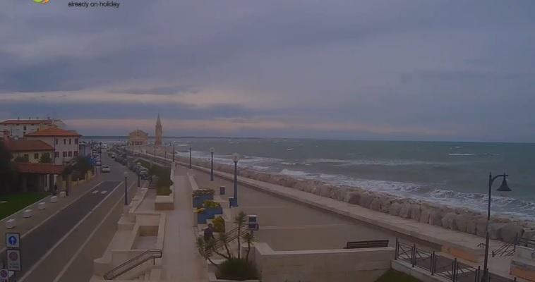 webcam Caorle Venecia