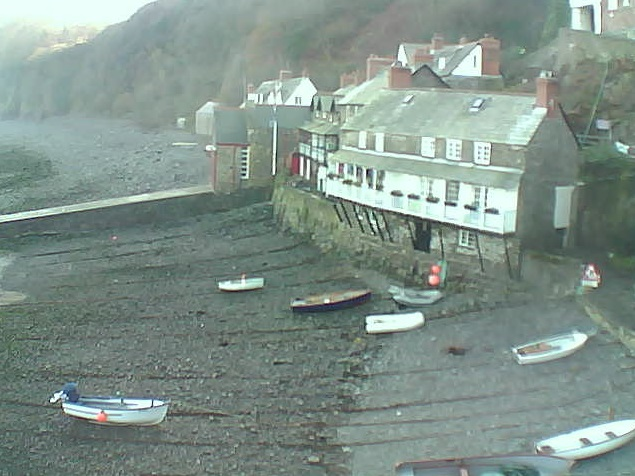 webcam Clovelly Harbour South West