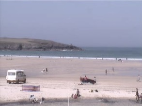 webcam Harlyn Bay South West
