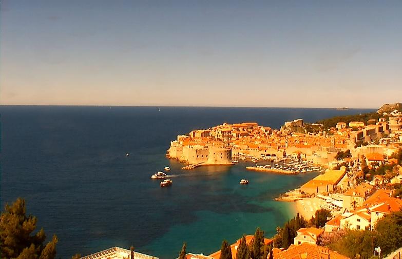 webcam Dubrovnik Marina Dubrovnik-Neretva