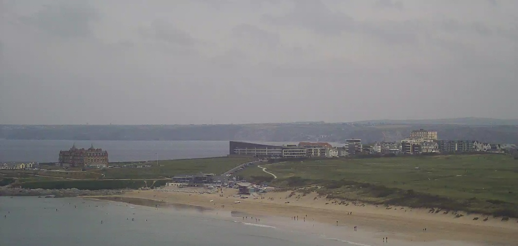 webcam Fistral Newquay South West