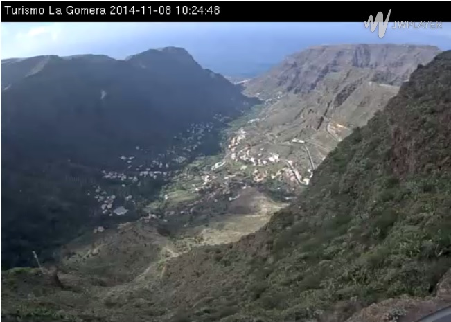 webcam Valle Gran Rey Santa Cruz de Tenerife