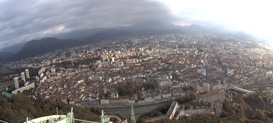 Webcam Bastille Grenoble
