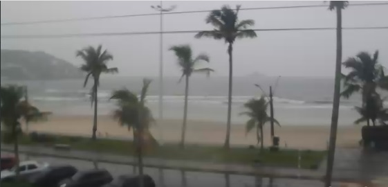 webcam Guaruja Enseada Santos