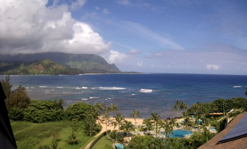 webcam Princeville Kauai