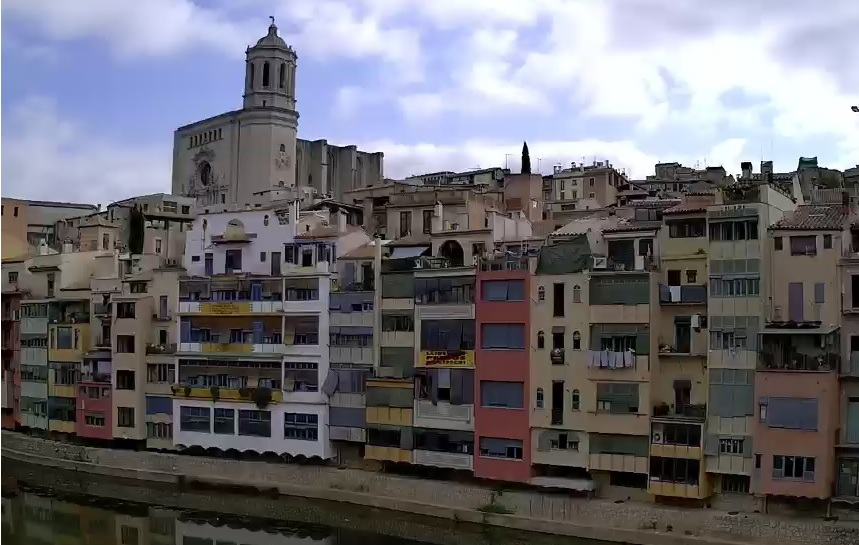webcam Girona Catedral Gerona