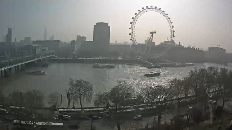 webcam London Eye Londres