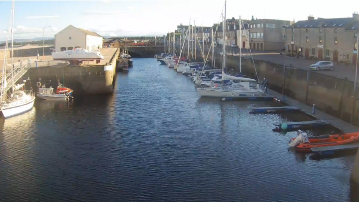 webcam Lossiemouth Moray
