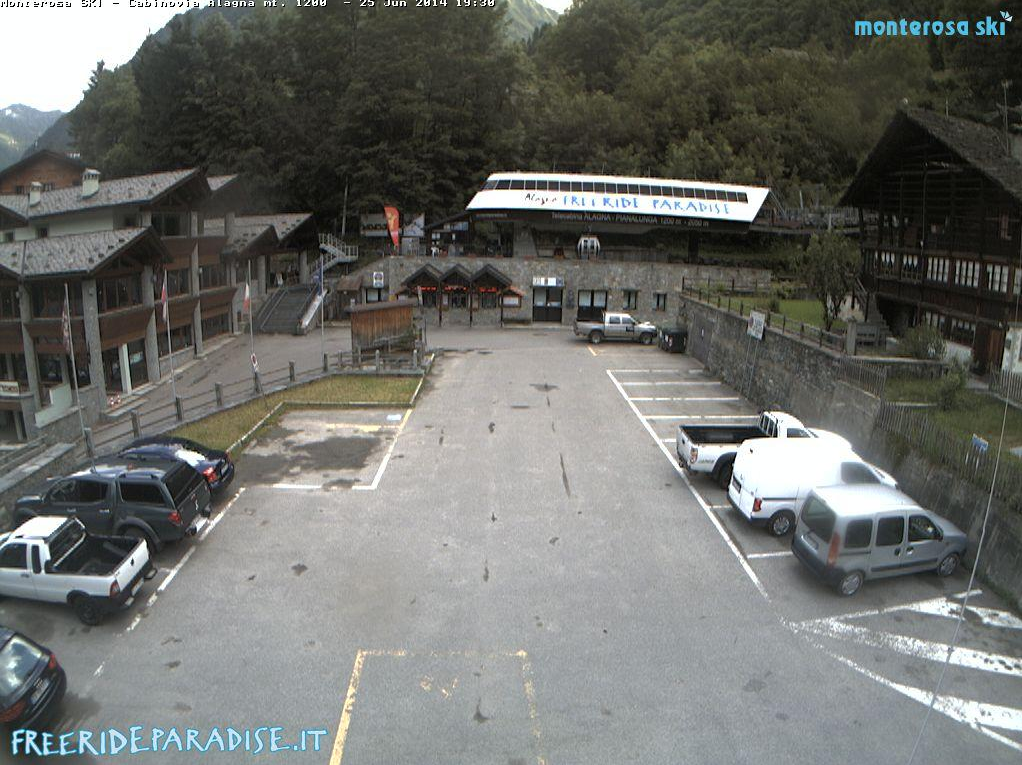 webcam Alagna Valsesia Ski Vercelli