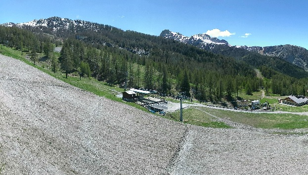 webcam Jafferau Bardonecchia Ski Turín
