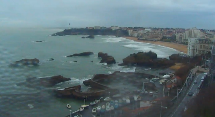 Webcam Biarritz Hotel