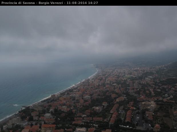 webcam Borgio Verezzi Panorama Savona