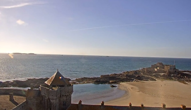 Webcam Sillon Saint Malo