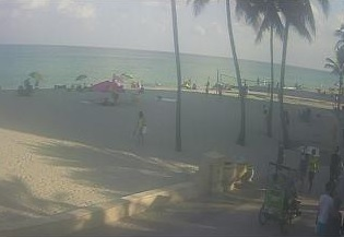 webcam Hollywood Beach Broward