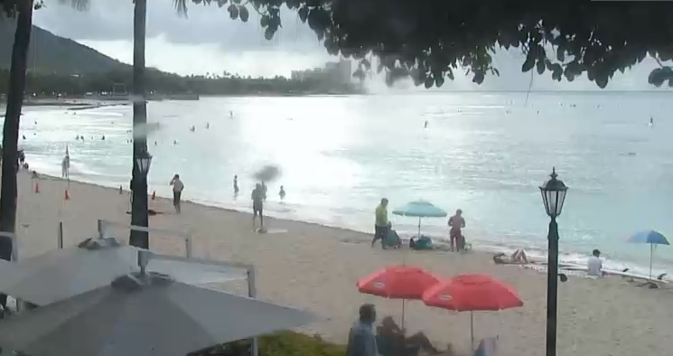 Webcam Moana Surfrider Waikiki Hotel