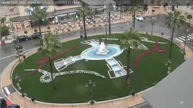 webcam Monaco Casino Square