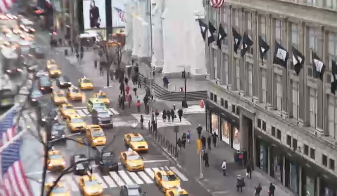 webcam 5th Avenue Nueva York