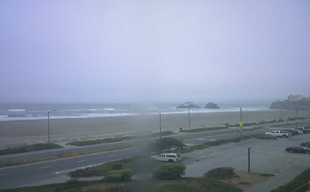 webcam Ocean Beach CA San Francisco
