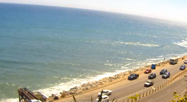 webcam Pacific Palisades Santa Monica Bay Los Angeles