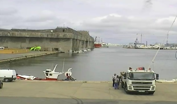 webcam Saint Nazaire Port Loire-Atlantique