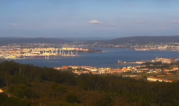 Webcam Ferrol
