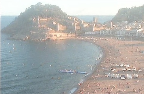 webcam Tossa del Mar Gerona