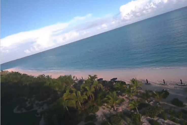 webcam Grace Bay Turk and Caicos Islands