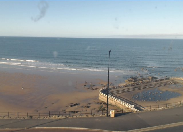 webcam Longsands Beach North East
