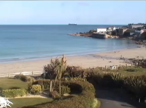 webcam Coverack Hotel South West