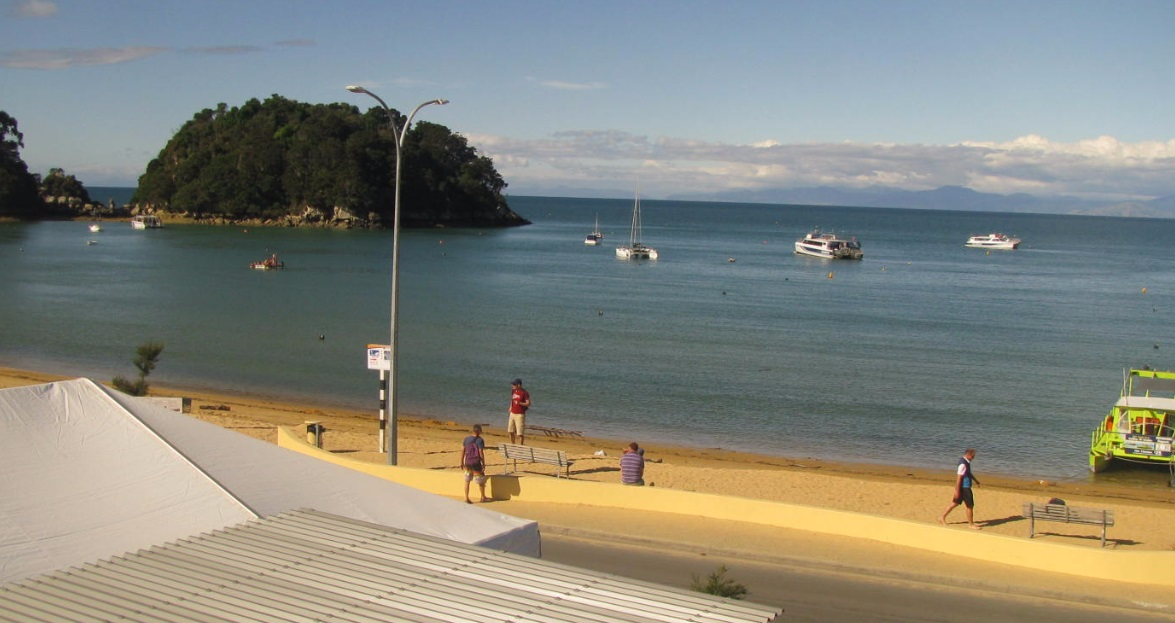 webcam Kaiteriteri Tasman