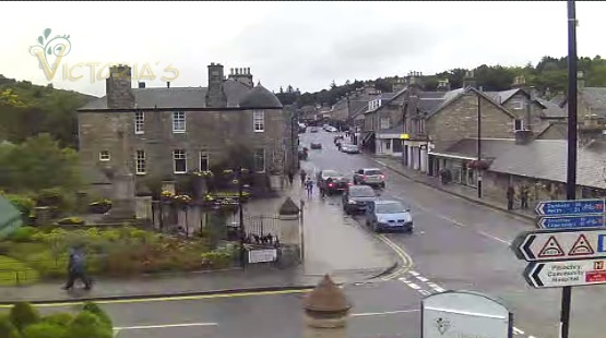 webcam Pitlochry Perth and Kinross