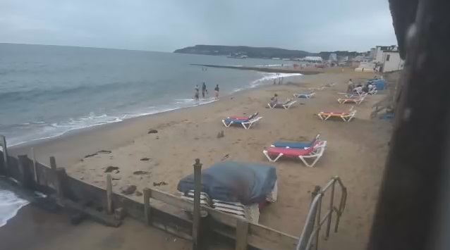 webcam Sandown Beach Bar South East