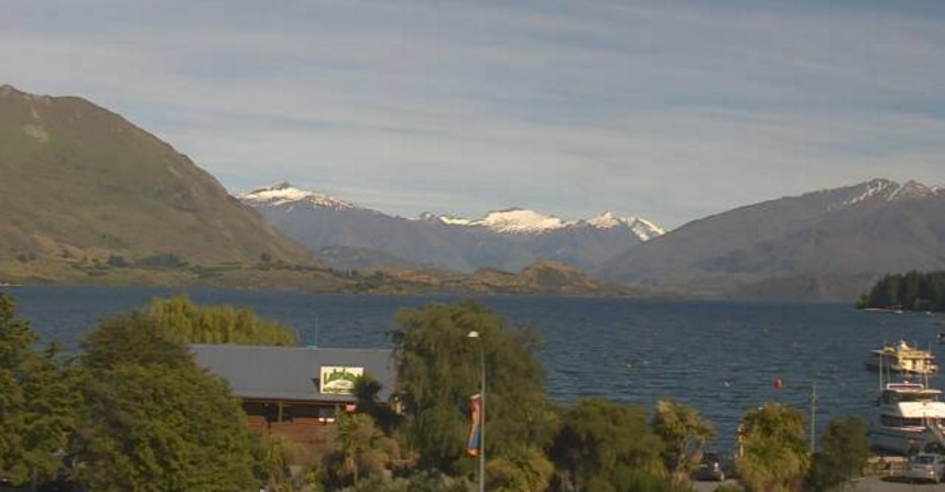 webcam Wanaka Lake Queenstown-Lakes