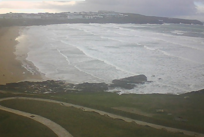 webcam Fistral Bay South West