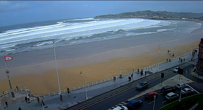 webcam Gijon Hotel Gijon