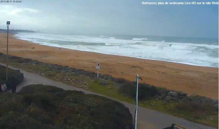 Webcam Anglet Surf Club