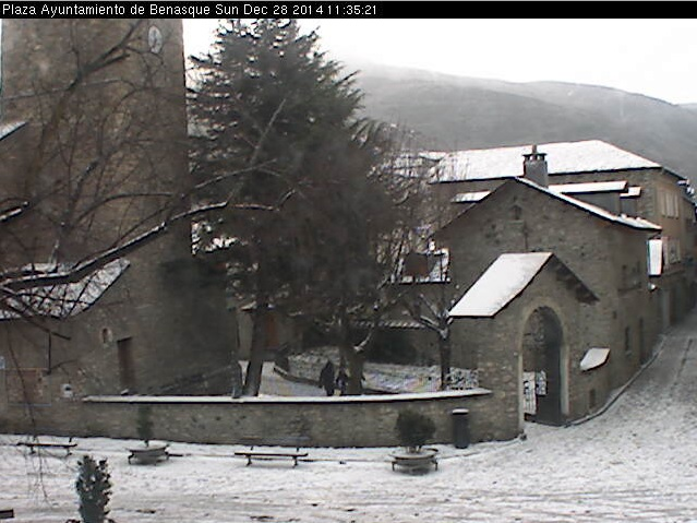 webcam Benasque Plaza Huesca