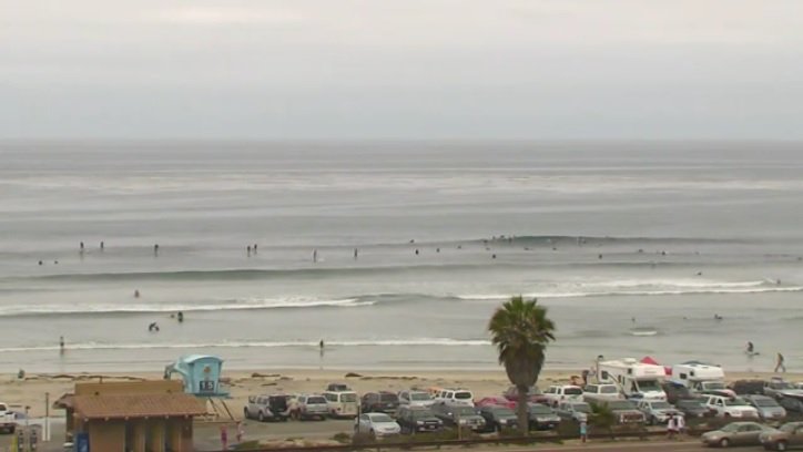 webcam Cardiff Reef San Diego