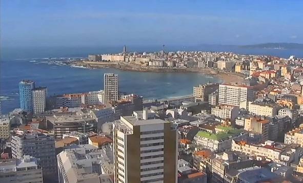 webcam La Coruña La Coruña