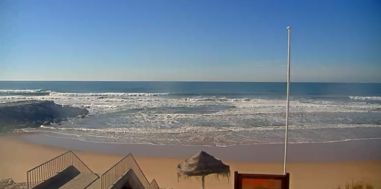 webcam Costa de Caparica Setúbal