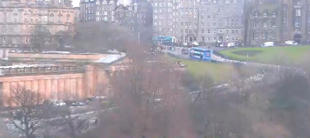 Webcam Edinburgh City