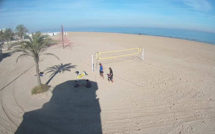 webcam Gandia Valencia