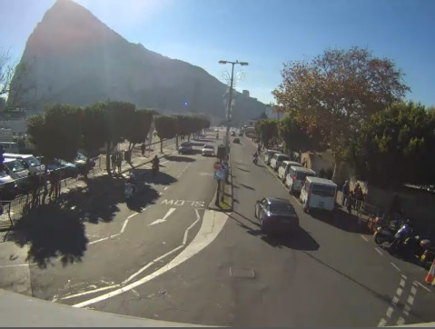 webcam Gibraltar UK Territory Cadiz